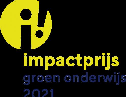 Groenpact organiseert: de Impactprijs Groen Onderwijs 2021